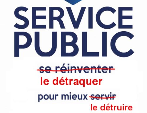 Action publique 2022 : lever le voile monsieur le Ministre !