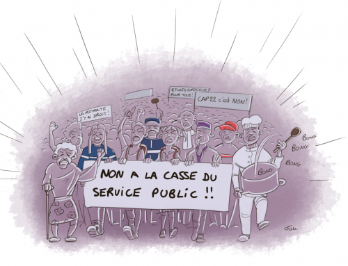 Grève et manifestation le Mardi 9 Octobre